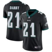 Wholesale Cheap Nike Eagles #21 Ronald Darby Black Alternate Men's Stitched NFL Vapor Untouchable Limited Jersey