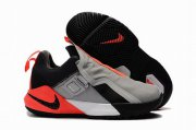 Wholesale Cheap Nike Lebron James Ambassador 11 Shoes Grey Black Orange