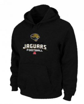 Wholesale Cheap Jacksonville Jaguars Critical Victory Pullover Hoodie Black