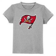 Wholesale Cheap Tampa Bay Buccaneers Sideline Legend Authentic Logo Youth T-Shirt Grey