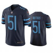Wholesale Cheap Chicago Bears #51 Dick Butkus Navy Vapor Limited City Edition NFL Jersey