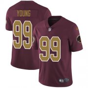 Wholesale Cheap Nike Redskins #99 Chase Young Burgundy Red Alternate Youth Stitched NFL Vapor Untouchable Limited Jersey