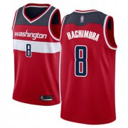 Wholesale Cheap Wizards #8 Rui Hachimura Red Basketball Swingman Icon Edition Jersey
