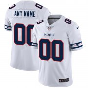 Wholesale Cheap New England Patriots Custom Nike White Team Logo Vapor Limited NFL Jersey