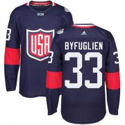 Wholesale Cheap Team USA #33 Dustin Byfuglien Navy Blue 2016 World Cup Stitched Youth NHL Jersey