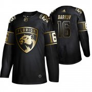 Wholesale Cheap Adidas Panthers #16 Aleksander Barkov Men's 2019 Black Golden Edition Authentic Stitched NHL Jersey
