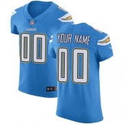 Wholesale Cheap Nike San Diego Chargers Customized Electric Blue Alternate Stitched Vapor Untouchable Elite Men's NFL Jersey