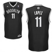 Wholesale Cheap Brooklyn Nets #11 Brook Lopez Black Swingman Jersey