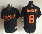 Wholesale Cheap Orioles #8 Cal Ripken Black New Cool Base Stitched MLB Jersey