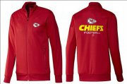 Wholesale NFL Kansas City Chiefs Victory Jacket Red
