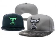 Wholesale Cheap NBA Chicago Bulls Snapback Ajustable Cap Hat YD 03-13_25