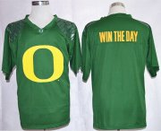 Wholesale Cheap Oregon Ducks Blank Win The Day Team Pride Fashion Green Jersey