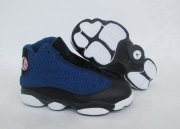 Wholesale Cheap Kids' Air Jordan 13 Retro Shoes Brave Blue/Black-White