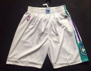 Wholesale Cheap Men's Charlotte Hornets White Swingman Short