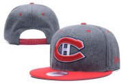 Wholesale Cheap NHL Montreal Canadiens Stitched Snapback Hats 001
