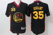 Wholesale Cheap Men's Golden State Warriors #35 Kevin Durant Black Adidas Revolution 30 Swingman 2015 Chinese Fashion Stitched NBA Jersey