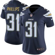 Wholesale Cheap Nike Chargers #31 Adrian Phillips Navy Blue Team Color Women's Stitched NFL Vapor Untouchable Limited Jersey