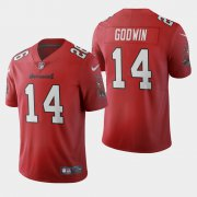 Wholesale Cheap Tampa Bay Buccaneers #14 Chris Godwin Red Men's Nike 2020 Vapor Limited NFL Jersey