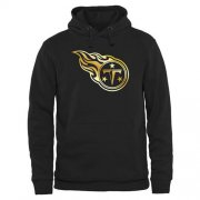 Wholesale Cheap Men's Tennessee Titans Pro Line Black Gold Collection Pullover Hoodie