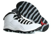 Wholesale Cheap Air Jordan 10 Retro Size 15 16 White/black-gray