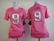 Wholesale Nike Cowboys #9 Tony Romo Pink Women's Be Luv'd Stitched NFL New Elite Jersey