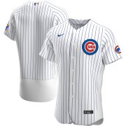 Wholesale Cheap Chicago Cubs Men's Nike White Home 2020 Authentic Official Team MLB Jersey