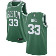 Wholesale Cheap Nike Boston Celtics #33 Larry Bird Green NBA Swingman Icon Edition Jersey