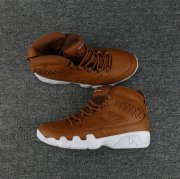 Wholesale Cheap Mens Air Jordan 9(IX) Retro Shoes Brown/White