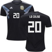Wholesale Cheap Argentina #20 Lo Celso Away Kid Soccer Country Jersey