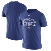 Wholesale Cheap Toronto Blue Jays Nike Away Practice T-Shirt Royal
