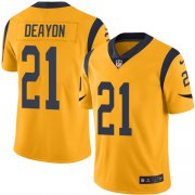 Wholesale Cheap Nike Rams #21 Donte Deayon Gold Youth Stitched NFL Limited Rush Jersey