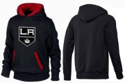 Wholesale Cheap Los Angeles Kings Pullover Hoodie Black & Red