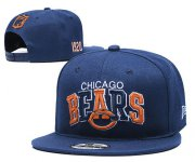 Wholesale Cheap Bears Fresh Logo Navy 1920 Anniversary Adjustable Hat YD