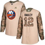 Wholesale Cheap Adidas Islanders #12 Josh Bailey Camo Authentic 2017 Veterans Day Stitched Youth NHL Jersey