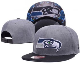 Wholesale Cheap NFL Seahawks Seahawks Team Logo Navy Adjustable