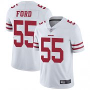 Wholesale Cheap Nike 49ers #55 Dee Ford White Men's Stitched NFL Vapor Untouchable Limited Jersey