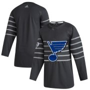 Wholesale Cheap Men's St. Louis Blues Adidas Gray 2020 NHL All-Star Game Authentic Jersey