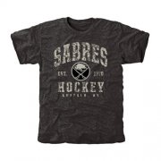 Wholesale Cheap Men's Buffalo Sabres Black Camo Stack T-Shirt