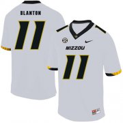 Wholesale Cheap Missouri Tigers 11 Kendall Blanton White Nike College Football Jersey