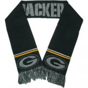 Wholesale Cheap Green Bay Packers Ladies Metallic Thread Scarf Green
