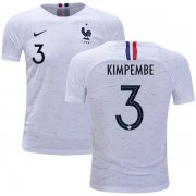 Wholesale Cheap France #3 Kimpembe Away Kid Soccer Country Jersey