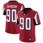 Wholesale Cheap Nike Falcons #90 Marlon Davidson Red Team Color Men's Stitched NFL Vapor Untouchable Limited Jersey
