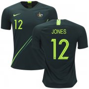 Wholesale Cheap Australia #12 Jones Away Soccer Country Jersey