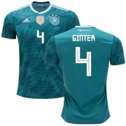 Wholesale Cheap Germany #4 Ginter Away Kid Soccer Country Jersey