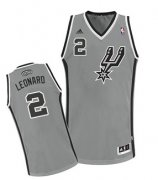 Wholesale Cheap San Antonio Spurs #2 Kawhi Leonard Gray Swingman Jersey