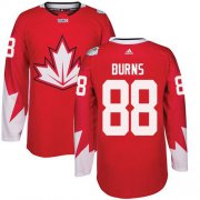 Wholesale Cheap Team Canada #88 Brent Burns Red 2016 World Cup Stitched Youth NHL Jersey