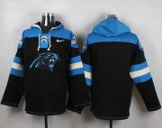 Wholesale Cheap Nike Panthers Blank Black Player Pullover NFL Hoodie