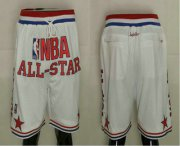 Wholesale Cheap 1988 All-Star East Shorts (White) JUST DON By Mitchell & Ness