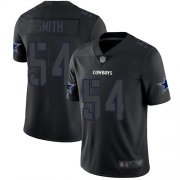 Wholesale Cheap Nike Cowboys #54 Jaylon Smith Black Men's Stitched NFL Limited Rush Impact Jersey