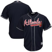 Wholesale Cheap Braves Blank Navy 2019 Alternate Official Cool Base Stitched MLB Jersey